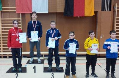 Hessenmeister in Freistil Marvin Schwarz.